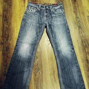Rock Revival© Jeans 👖 33×32 Paul boot